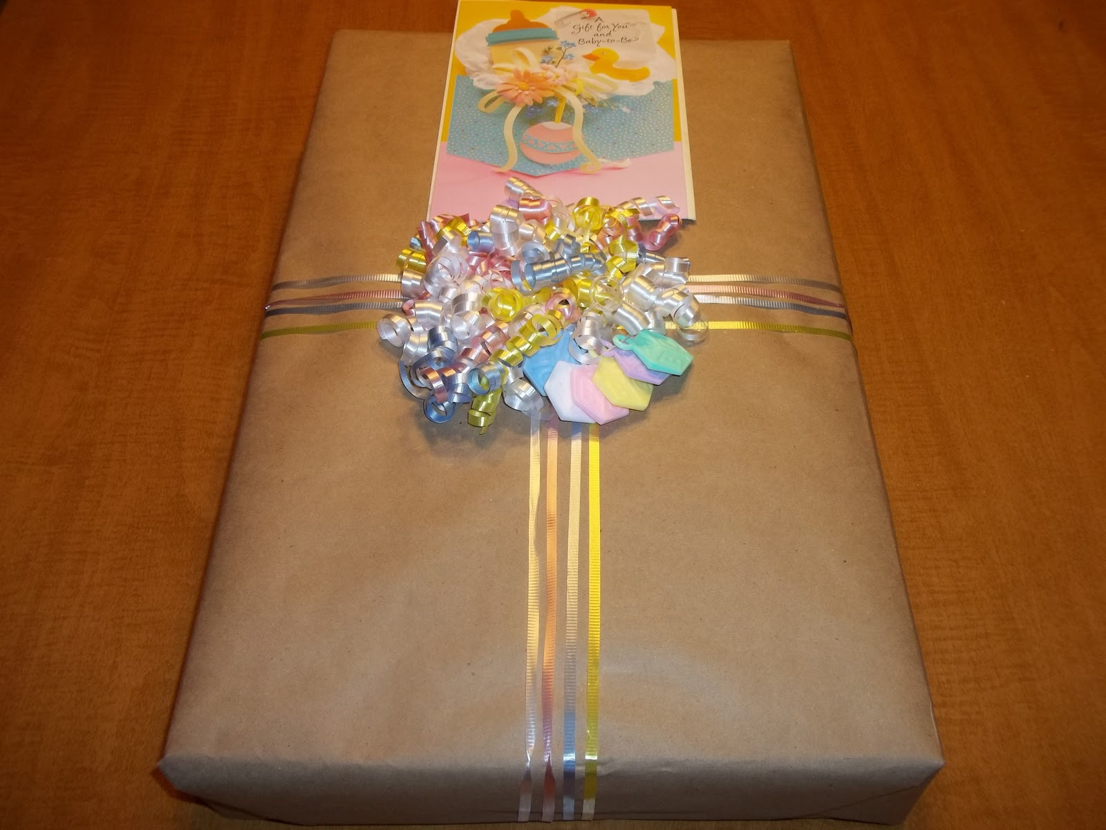 Baby Gift Wrap Ideas  My Favorite Pieces creative baby shower t wrap