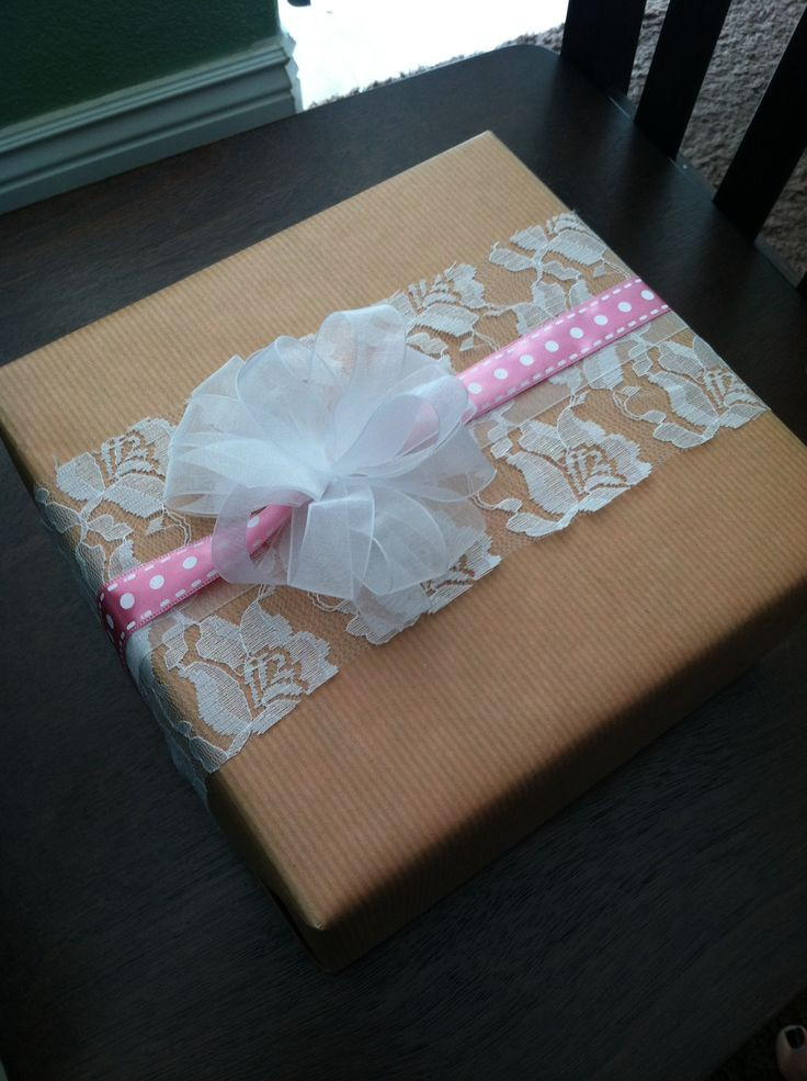 Baby Gift Wrap Ideas  52 best images about Creative Packaging on Pinterest