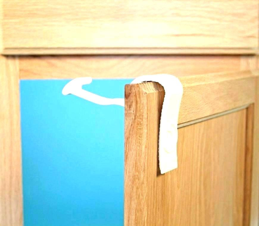 Baby Proof Cabinets DIY  Baby Proof Drawers Baby Proofing Cabinet Locks Baby