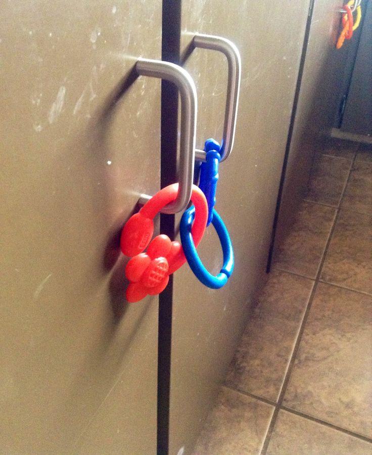 Baby Proof Cabinets DIY  DIY child proofing cupboard doors Easy Brilliant