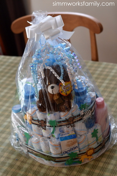 Baby Shower Gift Basket Ideas For Guests  Baby Shower Gift Ideas for Second Baby A Crafty Spoonful