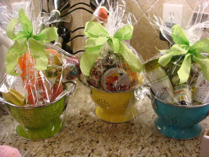 Baby Shower Gift Basket Ideas For Guests  Shower Prizes on Pinterest