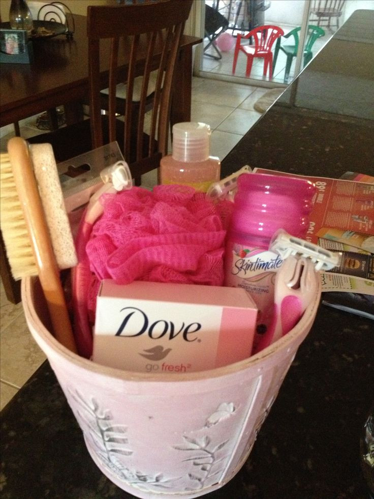 Baby Shower Gift Basket Ideas For Guests  Baby shower game prize Stuff to Buy Pinterest