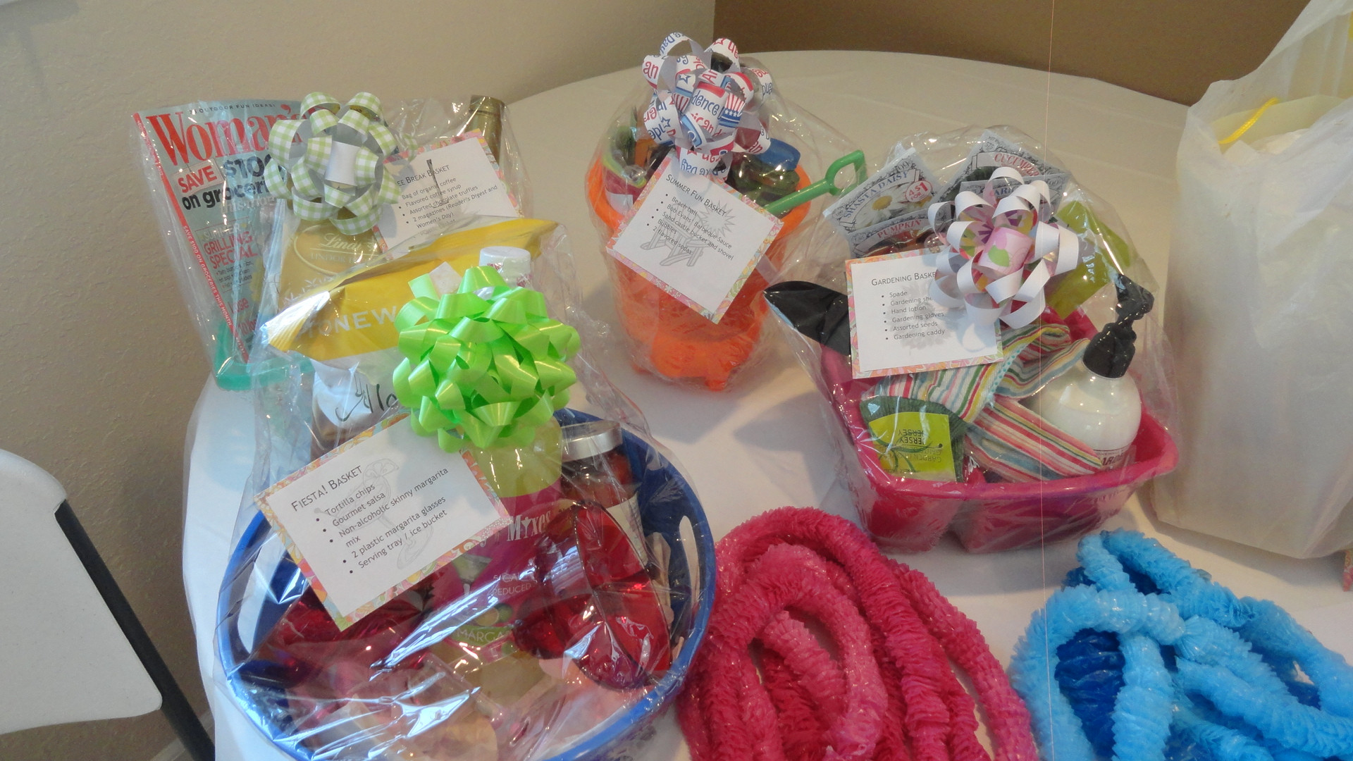 Baby Shower Gift Basket Ideas For Guests  Baby Shower Guest Gift Basket Ideas • Baby Showers Ideas