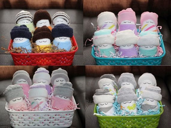Baby Shower Gift Basket Ideas For Guests  Baby Shower Favors & Easy DIY Project – The Party Fetti Blog