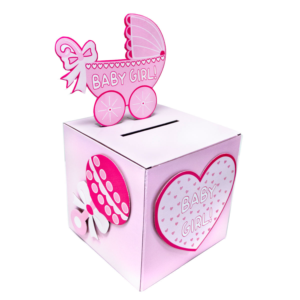 Best ideas about Baby Shower Gift Box Ideas . Save or Pin BabyShower Wishing well card t or money box BOY GIRL Now.
