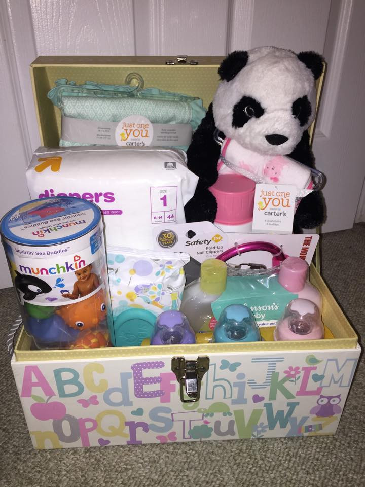 Best ideas about Baby Shower Gift Box Ideas . Save or Pin Simple make it yourself Baby Shower Gift Box Now.