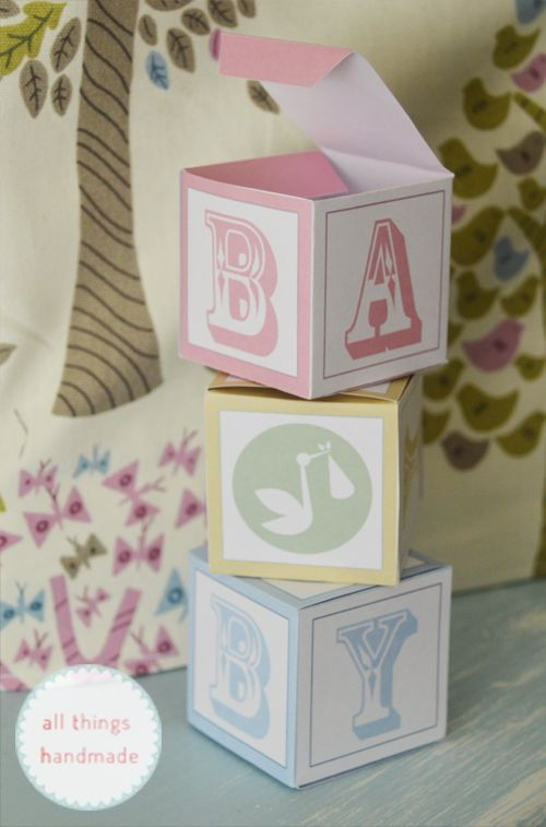 Best ideas about Baby Shower Gift Box Ideas . Save or Pin Baby Shower Favour Boxes Free Printable Now.