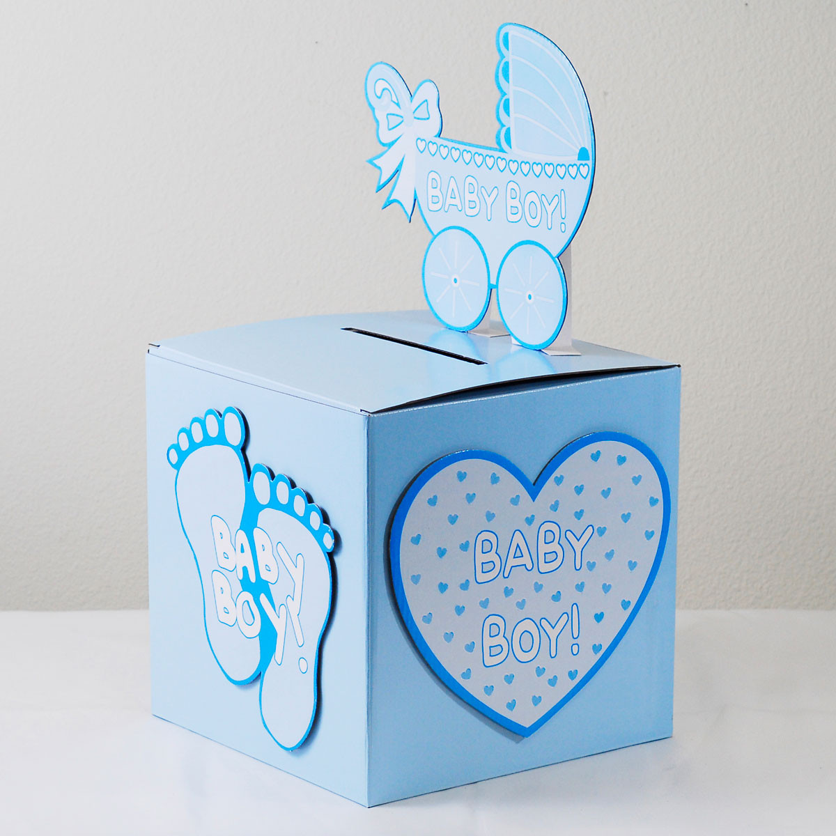 Best ideas about Baby Shower Gift Box Ideas . Save or Pin Baby Shower Gift Card Box Ideas • Baby Showers Ideas Now.