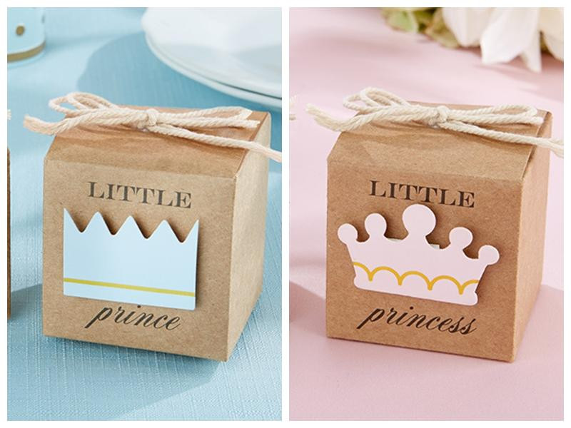Best ideas about Baby Shower Gift Box Ideas . Save or Pin 2016 Baby Shower Favors Little Prince Kraft Favor Boxes Now.