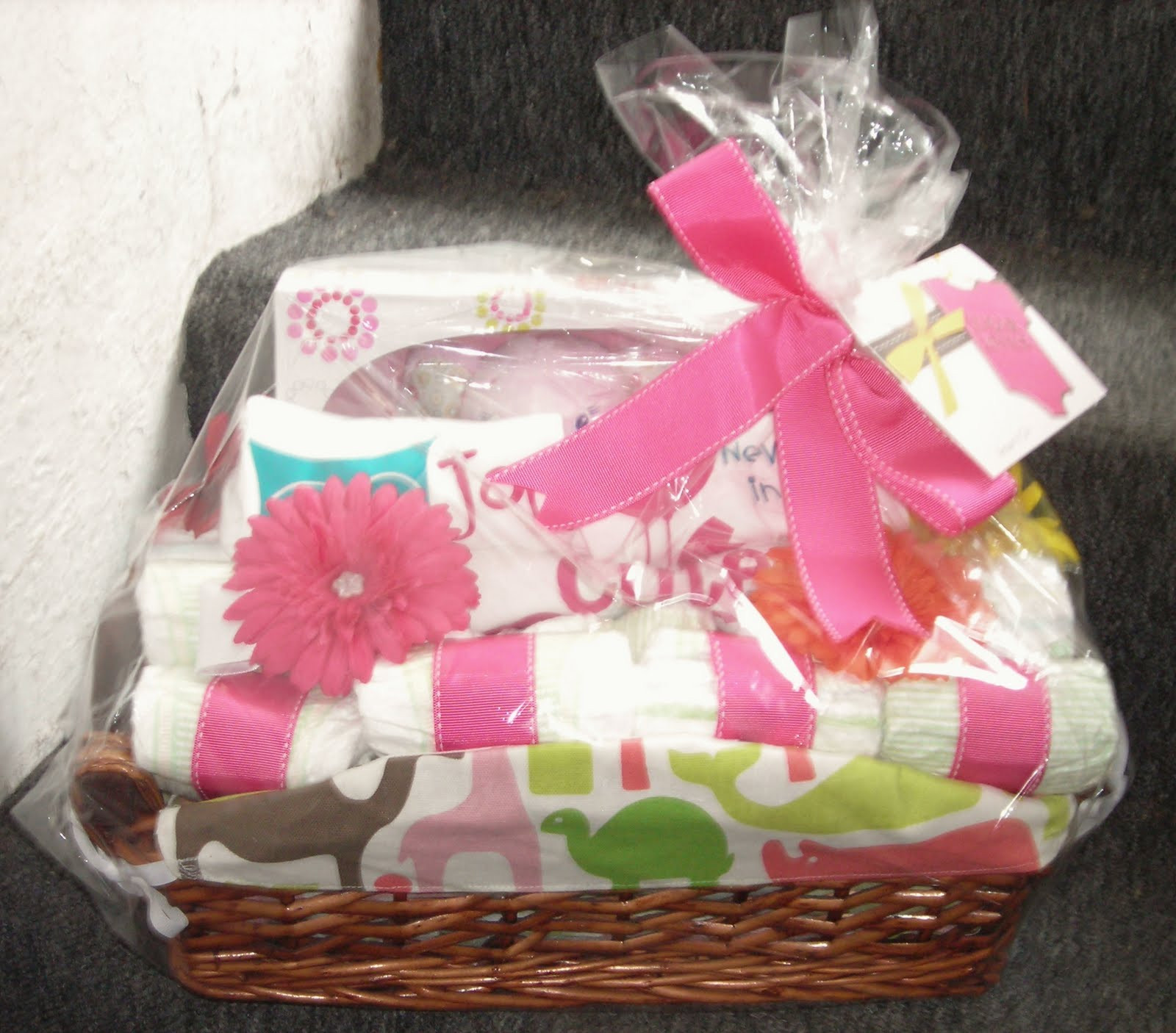 Baby Shower Gift Ideas For A Girl  Life in the Motherhood Baby Shower Gift Basket For a