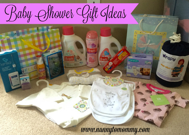 Baby Shower Giveaway Gift Ideas  Nanny to Mommy Baby Shower Gift Ideas with Dreft