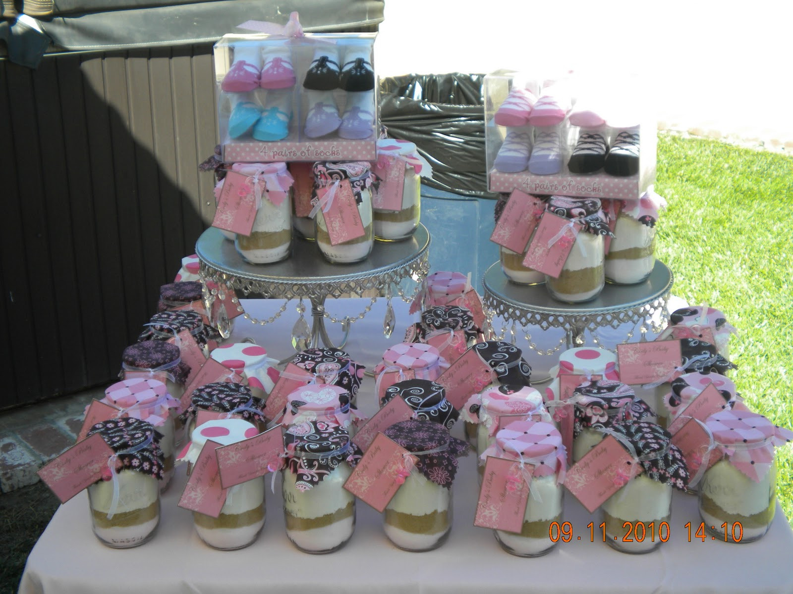 Best ideas about Baby Shower Guest Gift Ideas . Save or Pin Happily Ever After Designs Pink and Brown Baby Shower Now.
