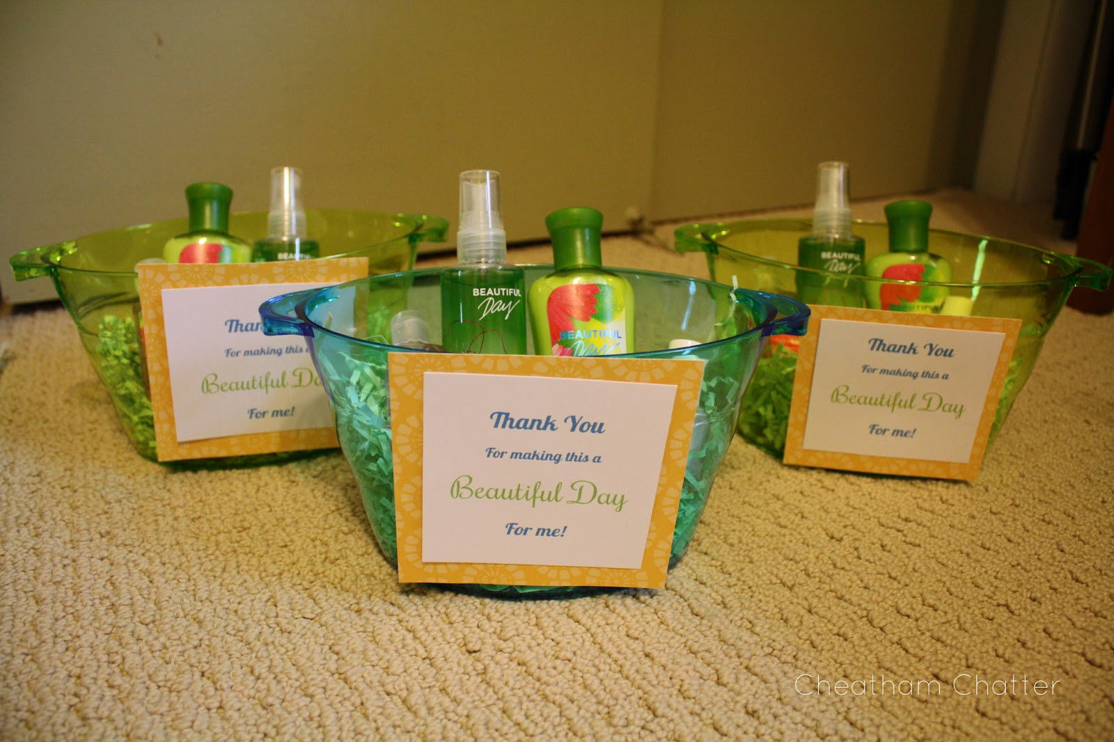 Baby Shower Hostess Thank You Gift Ideas  Cheatham Chatter Baby Shower Favors & Hostess Gifts