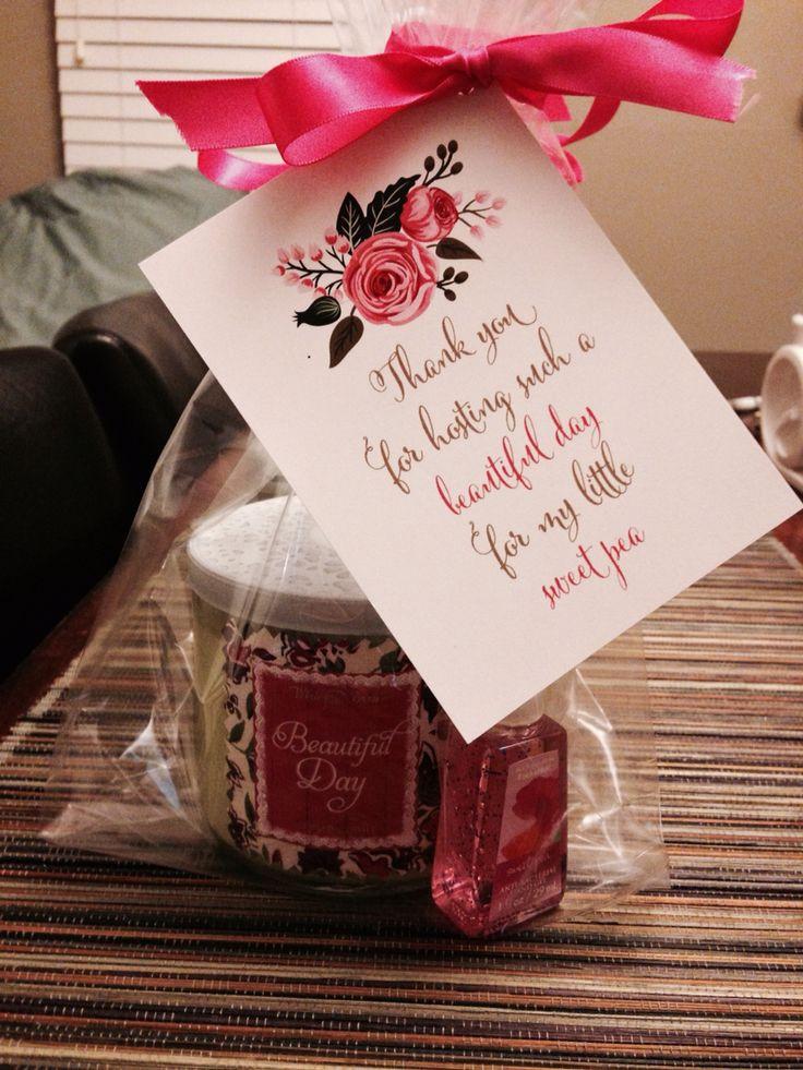 Baby Shower Hostess Thank You Gift Ideas  Best 25 Baby shower hostess ts ideas on Pinterest