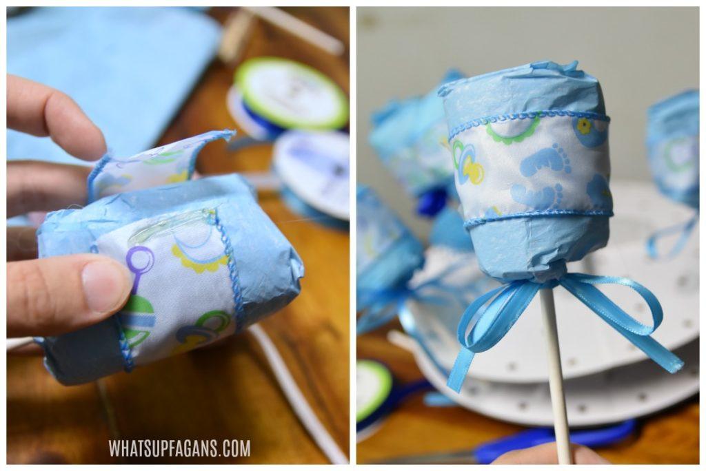 Baby Shower Party Favors DIY  DIY Diaper Rattle The Perfect Baby Shower Party Favor