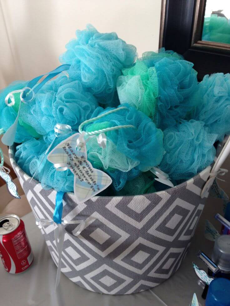 Baby Shower Party Favors DIY  DIY Baby Boy Shower Favor Baby Ideas