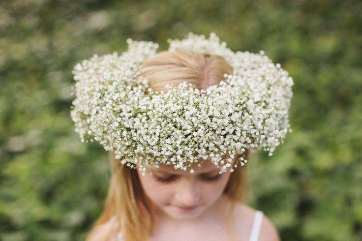 Best ideas about Baby'S Breath Flower Crown . Save or Pin 1000 images about Baby s Breath on Pinterest Now.