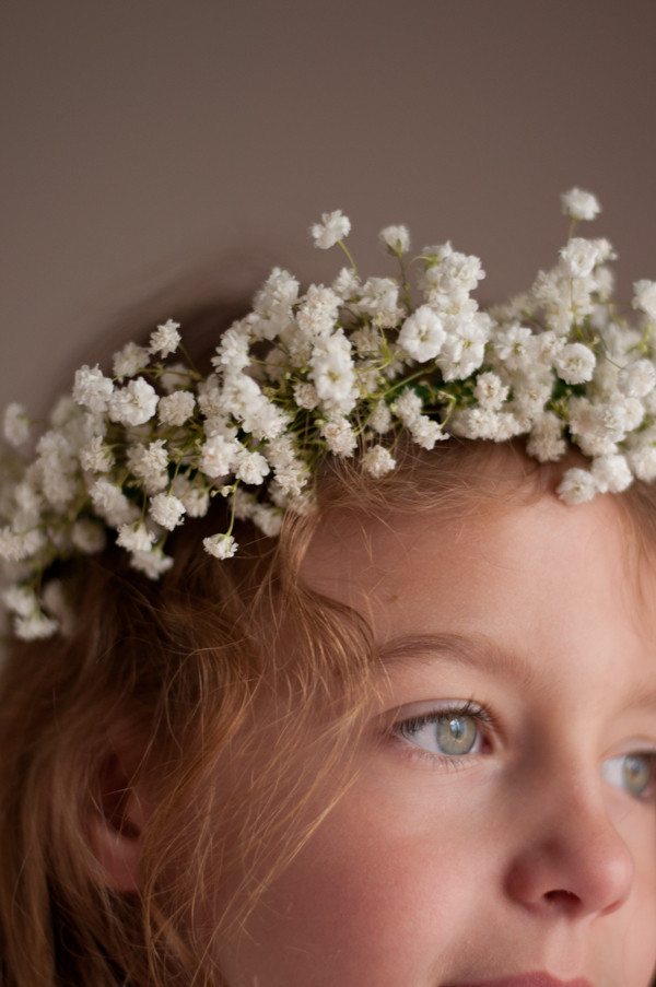 Best ideas about Baby'S Breath Flower Crown . Save or Pin Baby s Breath Crown • this heart of mine Now.