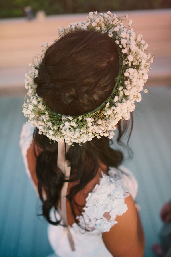 Best ideas about Baby'S Breath Flower Crown . Save or Pin 36 best images about paniculata en tu boda on Pinterest Now.