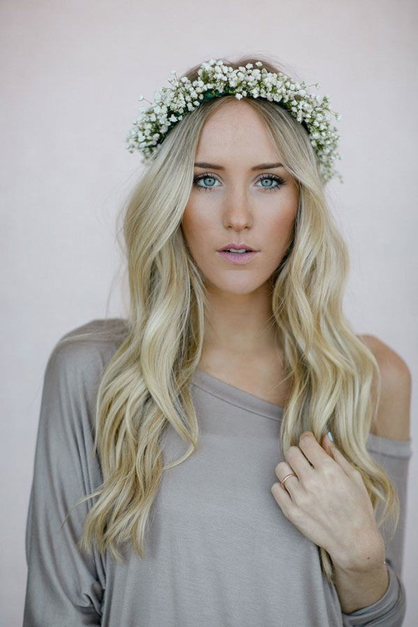 Best ideas about Baby'S Breath Flower Crown . Save or Pin Baby s Breath Wedding Details Now.