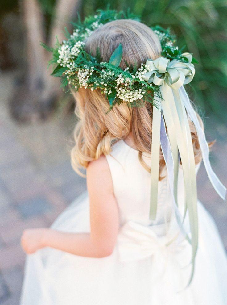 Best ideas about Baby'S Breath Flower Crown . Save or Pin Baby s Breath Floral Crown YourEventFlorist Now.