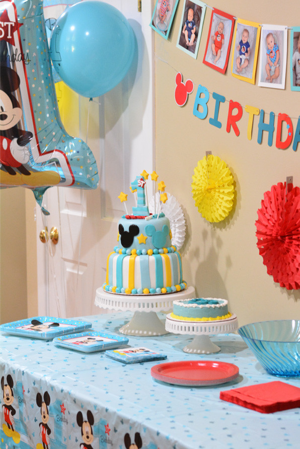 Best ideas about Baby'S First Birthday Gift Ideas . Save or Pin Mickey s Fun To Be e Birthday Party Ideas Mommy s Now.