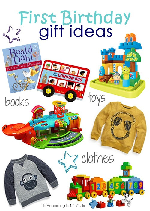 Best ideas about Baby'S First Birthday Gift Ideas . Save or Pin Life According to MrsShilts First Birthday t ideas Now.