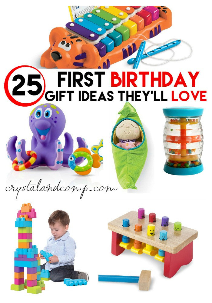 Best ideas about Baby'S First Birthday Gift Ideas . Save or Pin First Birthday Party Gift Ideas Now.
