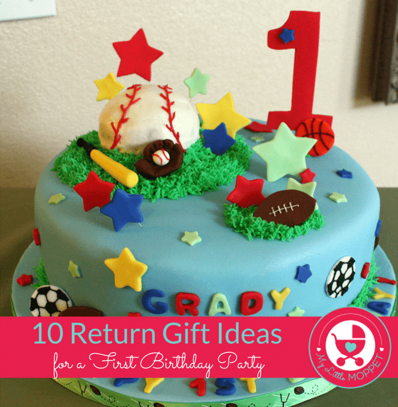 Best ideas about Baby'S First Birthday Gift Ideas . Save or Pin 10 Novel Return Gift Ideas for a First Birthday Party Now.