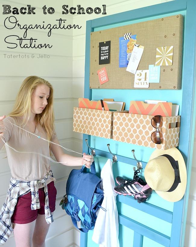 Back To School DIY Organization  Back to School Organizing