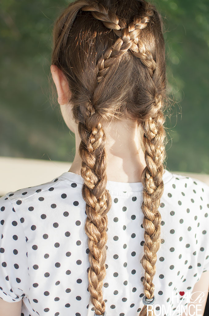 Back To School Hairstyles Braids  Back to school hairstyles – Criss cross braids tutorial
