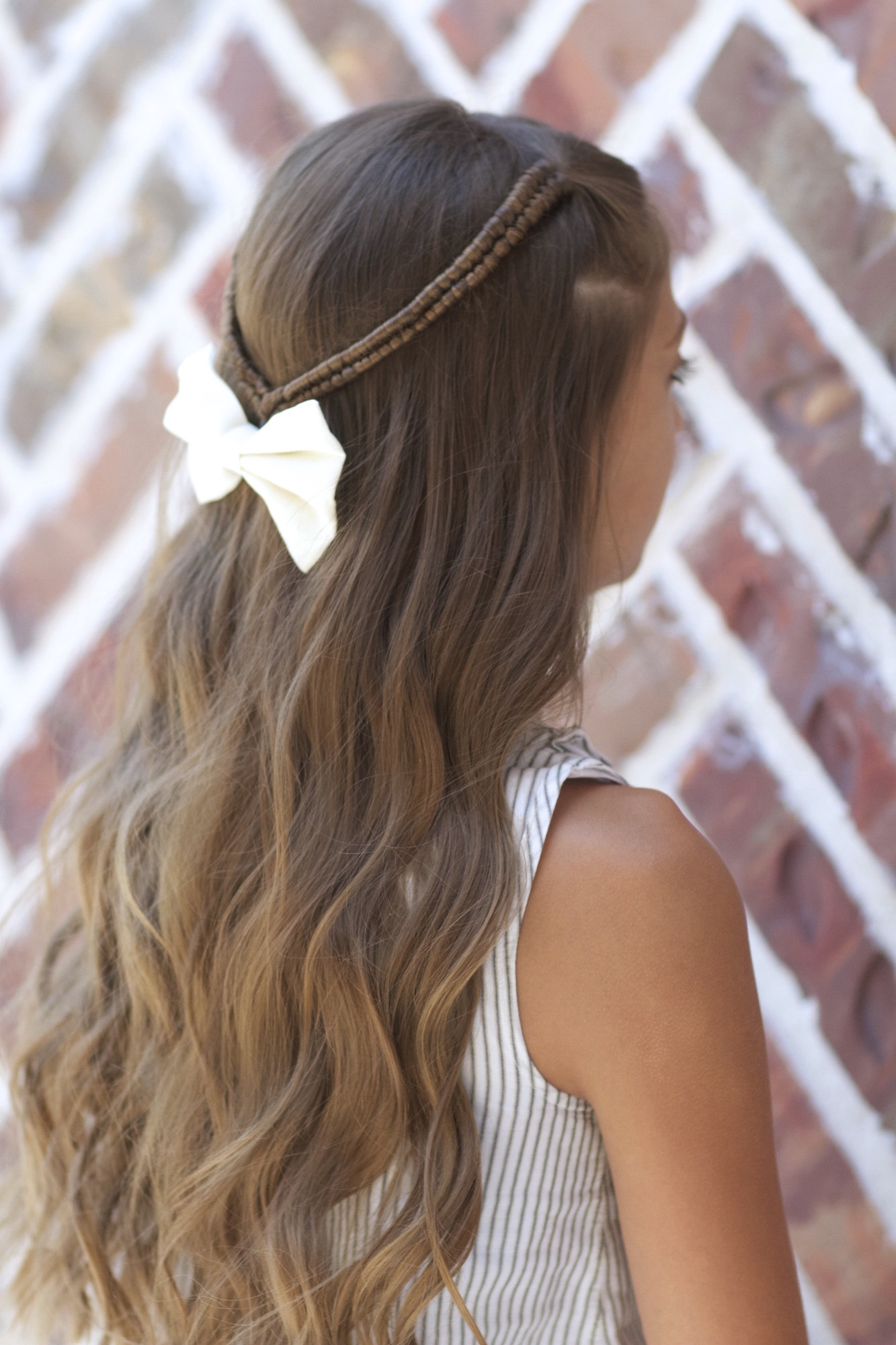 Back To School Hairstyles Braids  Infinity Braid Tieback Back to School Hairstyles