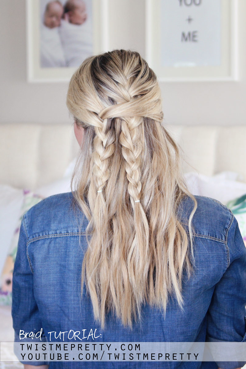 Back To School Hairstyles Braids  Bohemian Braid Tutorial Easy Back To School Hairstyle
