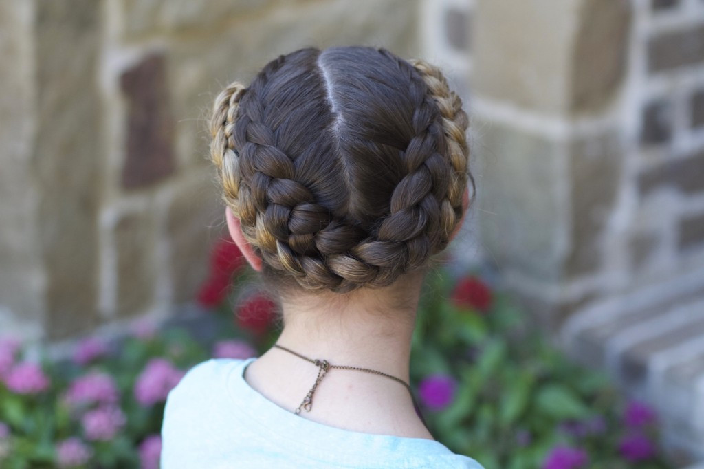 Back To School Hairstyles Braids  Easy Fold Up Braids Back to School Hairstyles