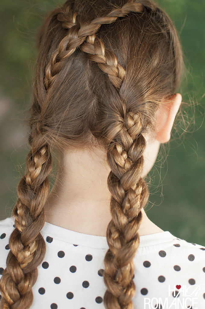 Back To School Hairstyles Braids  Back to school hairstyles The braided bubble ponytail