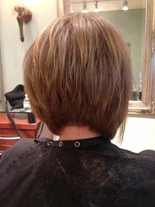 Back View Of Bob Haircuts  20 Inverted Bob Back View
