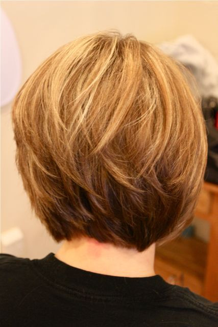 Back View Of Bob Haircuts  30 Popular Stacked A line Bob Hairstyles for Women