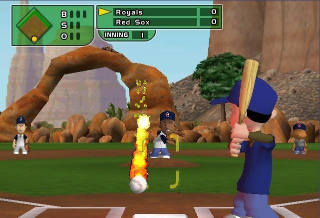 Best ideas about Backyard Baseball 2005 . Save or Pin Backyard Baseball Logo Now.