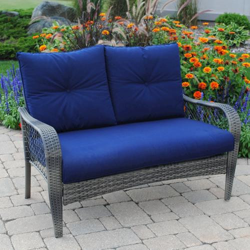 Best ideas about Backyard Creations Patio Furniture . Save or Pin Backyard Creations Aspen Loveseat at Menards Now.