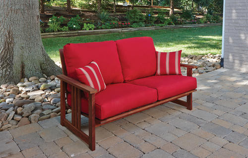 Best ideas about Backyard Creations Patio Furniture . Save or Pin Backyard Creations Ashland Loveseat at Menards Now.