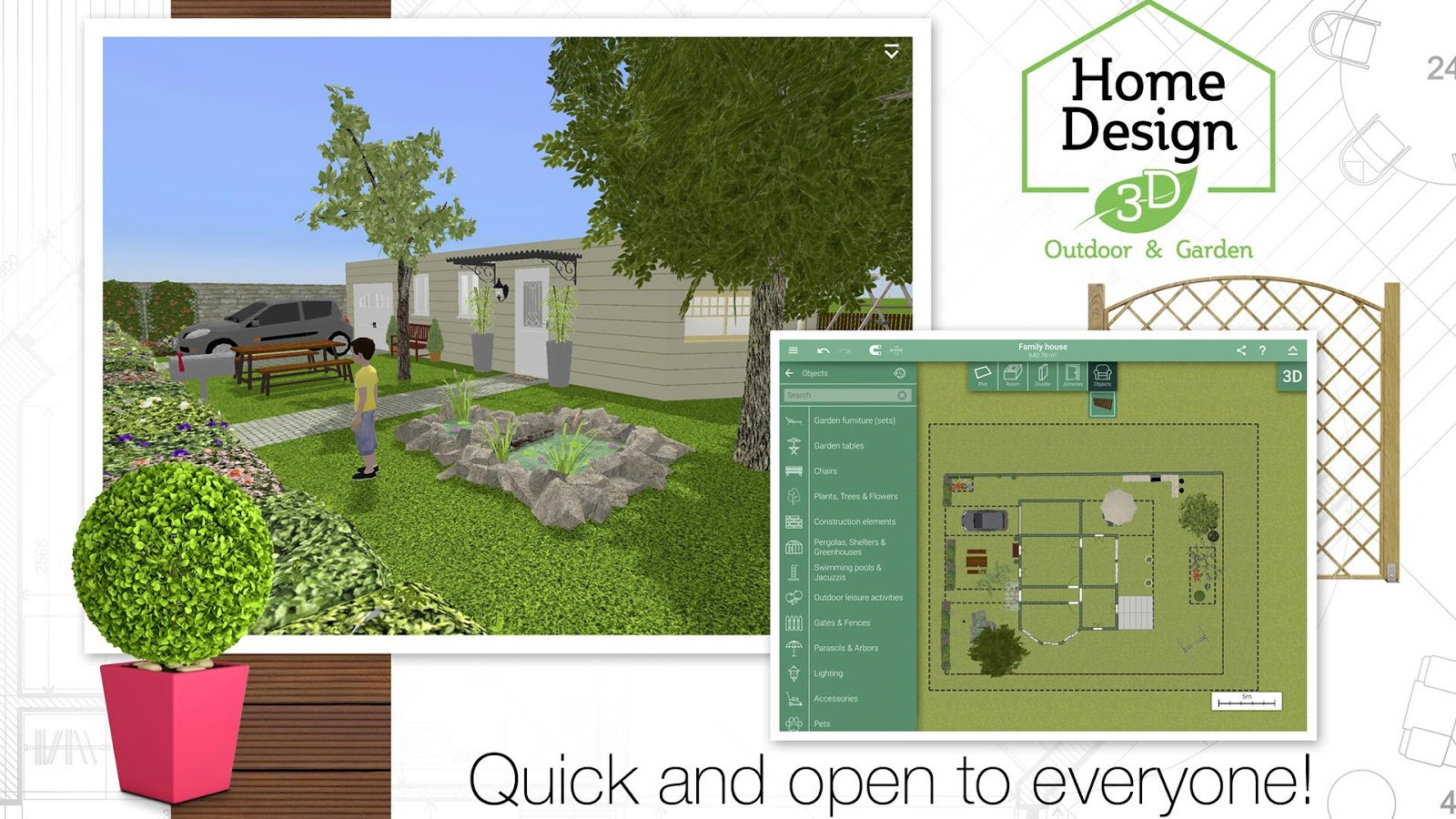 Best ideas about Backyard Design App . Save or Pin Home Design 3D Outdoor Garden Android Apps on Google Play Now.