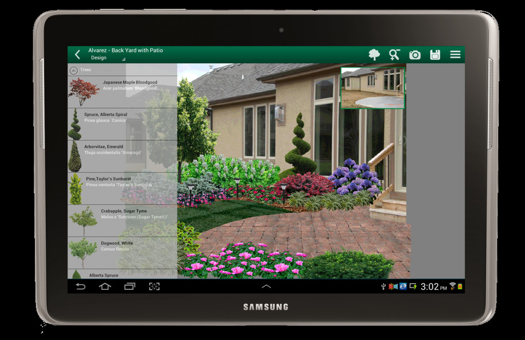 Best ideas about Backyard Design App . Save or Pin Landscape Design App Available for Android Now.