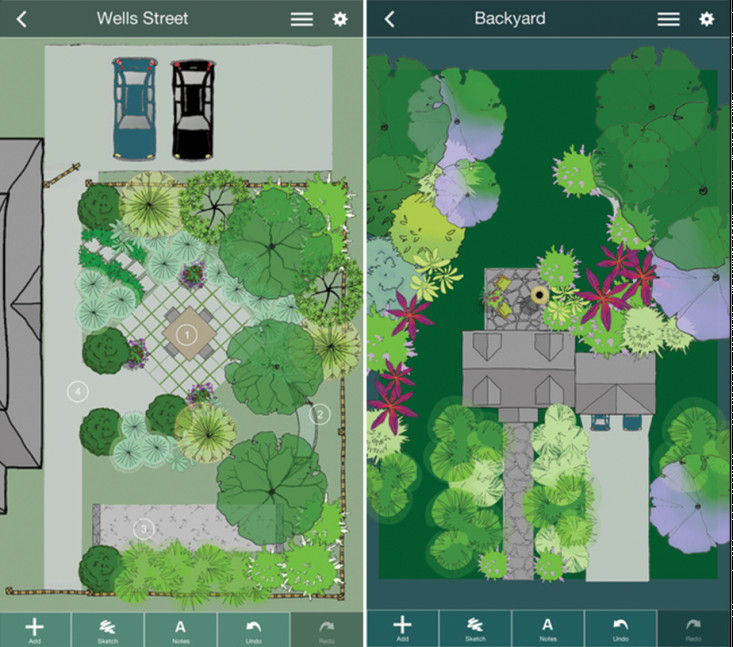 Best ideas about Backyard Design App . Save or Pin Mobile Me A Landscape Design App That Gets Personal Now.