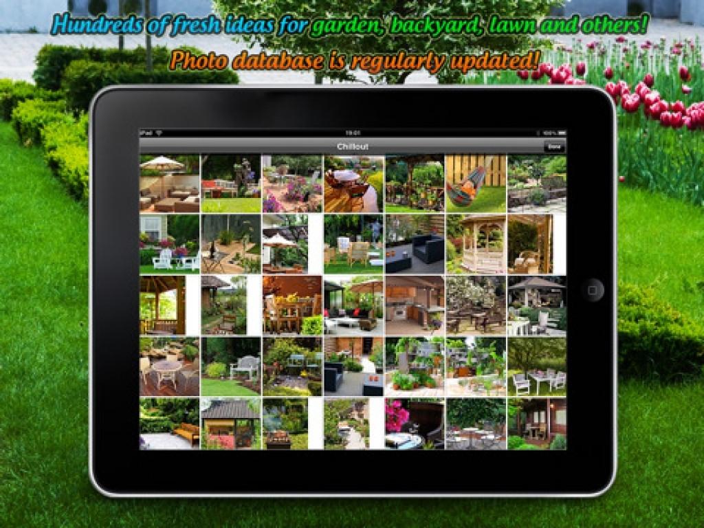 Best ideas about Backyard Design App . Save or Pin Patio Design App Backyard Designs Ideas Simple Landscape Now.