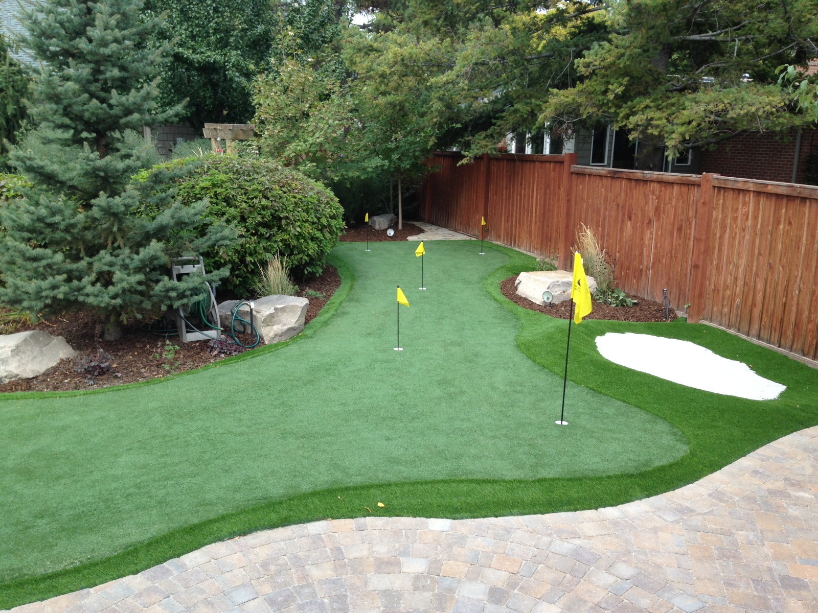 Best ideas about Backyard Putting Green . Save or Pin Creative Backyard Designs That Are Also Useful Now.