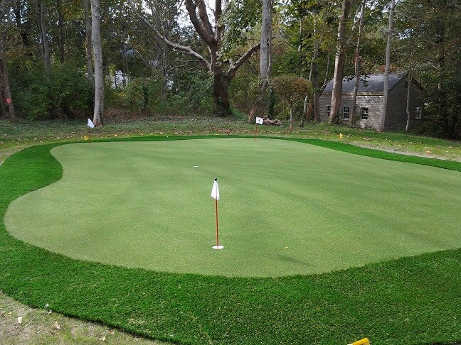 Best ideas about Backyard Putting Green . Save or Pin Custom Backyard Putting Greens in MA NH NY CT & RI Now.