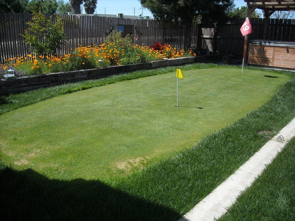 Best ideas about Backyard Putting Green . Save or Pin Artificial Putting Greens For Backyards Cost Best Now.