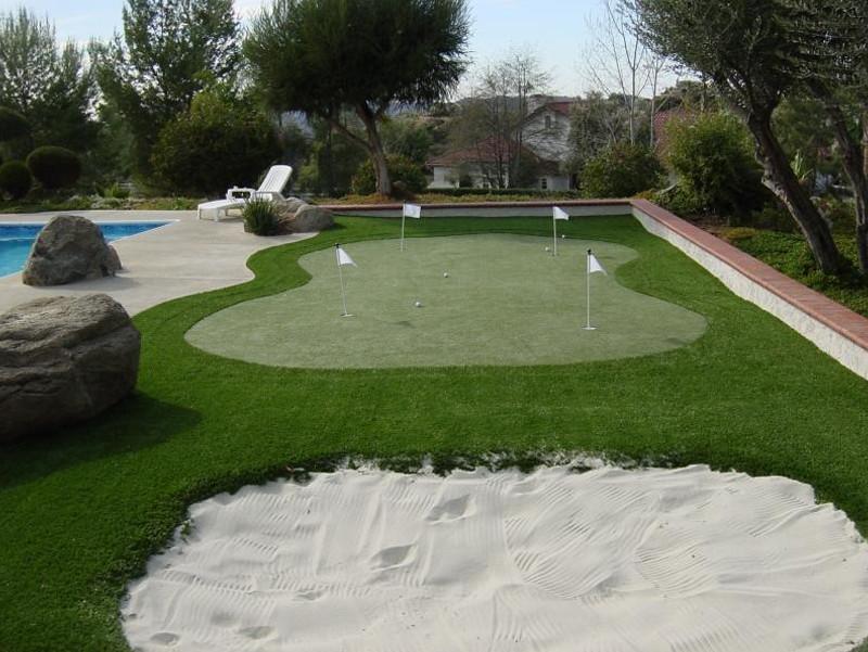 Backyard Putting Green DIY  backyard putting green diy All for the garden house