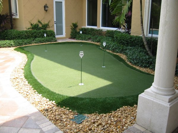 Best ideas about Backyard Putting Green . Save or Pin Golf Synthetic Putting Greens Backyard Putting Green Now.